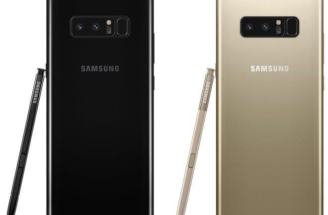 Galaxy Note8 chính thức mở bán tại VN ngày 29/9, chỉ có màu đen và vàng