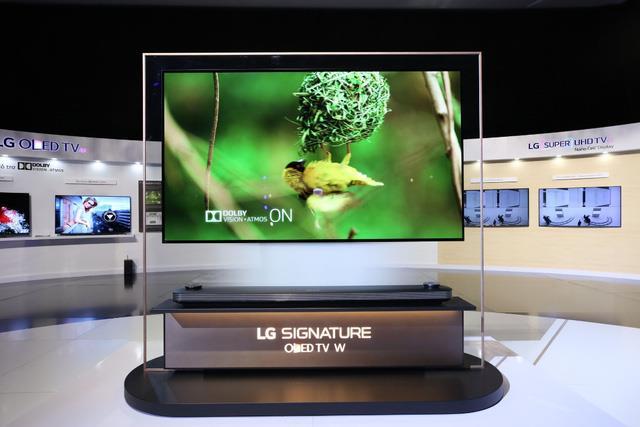 TV OLED siêu mỏng – xu hướng giải trí đỉnh cao