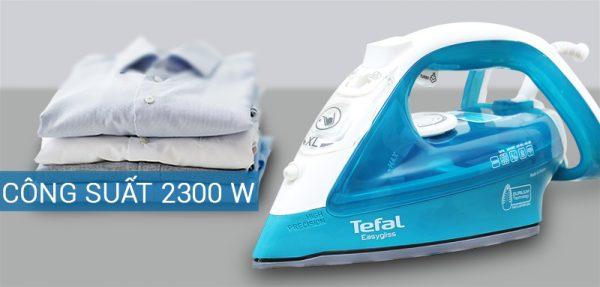 ban la hoi nuoc tefal fv3925 3 600x287 - Bàn ủi hơi nước Tefal FV3925 chính hãng