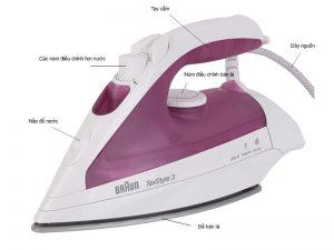 chi tiet ban la hoi nuoc braun ts320 300x225 - Bàn là hơi nước Braun TS320 2000w