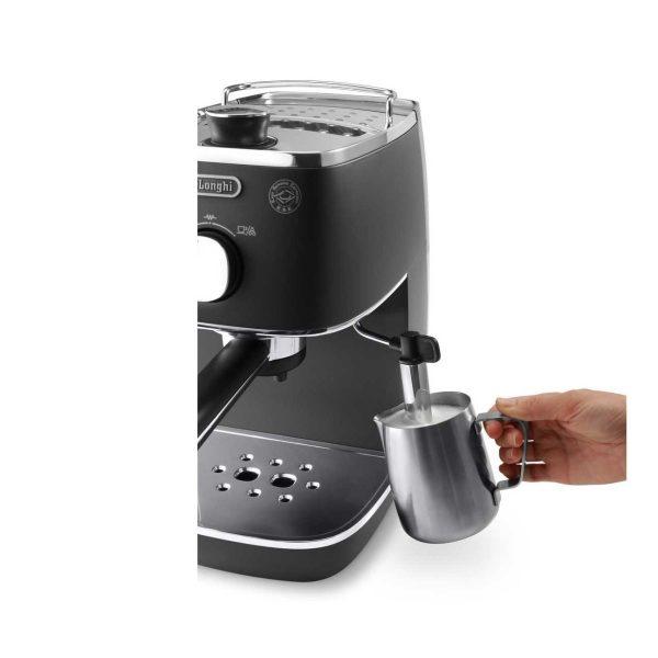 may pha ca phe espresso delonghi eci 341bk 2 600x600 - Máy pha cà phê Espresso Distinta Delonghi ECI 341.BK