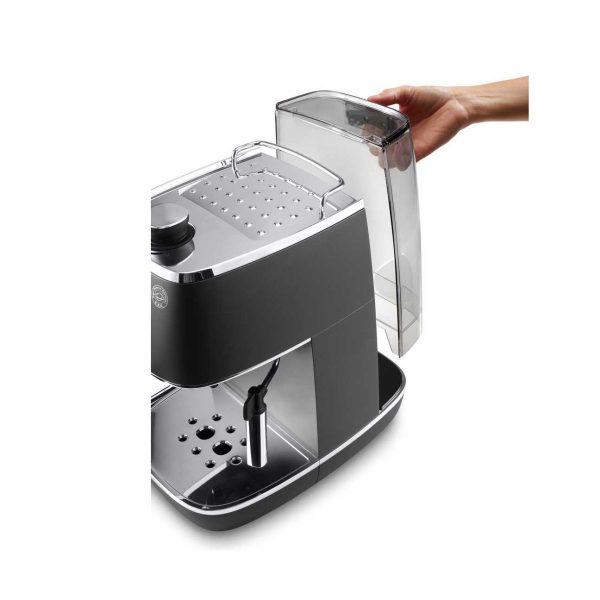 may pha ca phe espresso delonghi eci 341bk 3 600x600 - Máy pha cà phê Espresso Distinta Delonghi ECI 341.BK