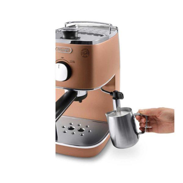 may pha ca phe espresso delonghi eci 341cp 2 600x600 - Máy pha cà phê Espresso Distinta Delonghi ECI 341.CP