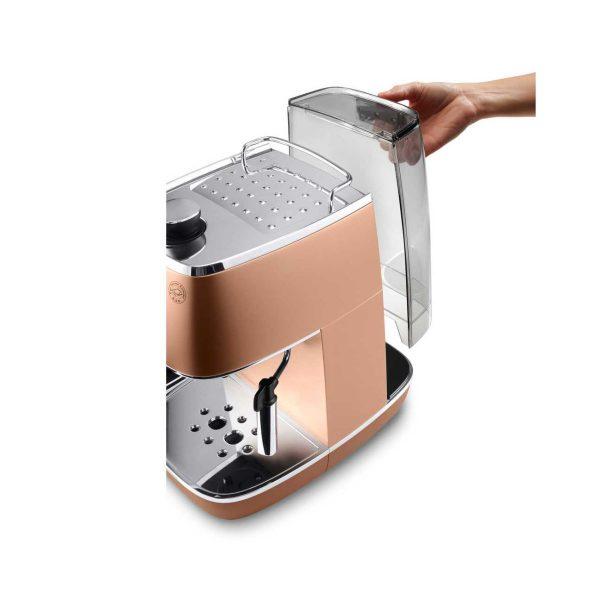 may pha ca phe espresso delonghi eci 341cp 3 600x600 - Máy pha cà phê Espresso Distinta Delonghi ECI 341.CP