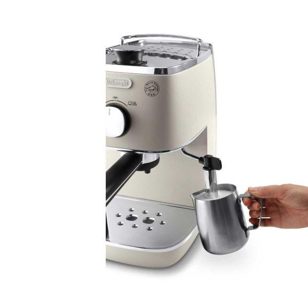 may pha ca phe espresso delonghi eci 341w 2 600x600 - Máy pha cà phê Espresso Distinta Delonghi ECI 341.W