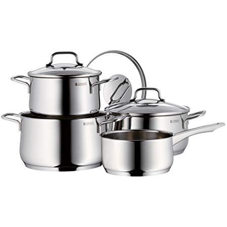 bo noi wmf cookware set 4 2 - Bộ nồi WMF COLLIER 4PC COOKWARE SET 4 chiếc chính hãng